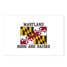 Born and Raised Maryland Postcards (Package of 8)