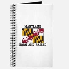 Born and Raised Maryland Journal