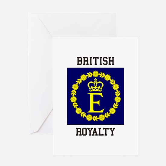 British Royalty Greeting Cards