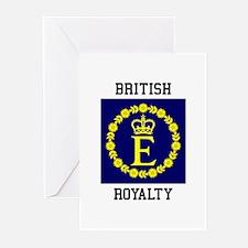 British Royalty Greeting Cards
