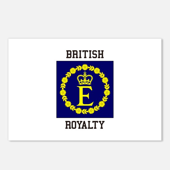 British Royalty Postcards (Package of 8)