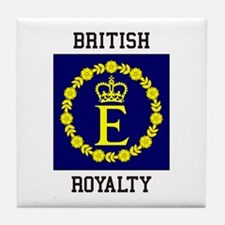 British Royalty Tile Coaster