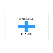 Marseille France Car Magnet 20 x 12
