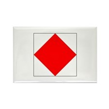 "ICS Flag Letter ""F"" Magnets"