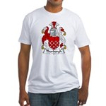 Thorburgh Family Crest Fitted T-Shirt