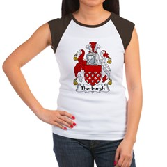 Thorburgh Family Crest Women's Cap Sleeve T-Shirt