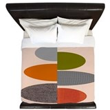 Mid century modern King Duvet Covers
