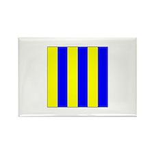 """ICS Flag Letter """"G"""" Magnets"""