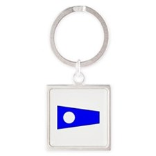 Pennant Flag Number 2 Keychains
