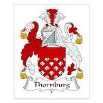 Thornburg Family Crest Small Poster
