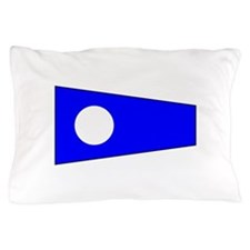 Pennant Flag Number 2 Pillow Case