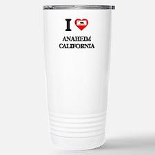 I love Anaheim Californ Travel Mug