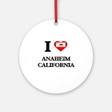 I love Anaheim California Ornament (Round)