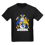 Thornbery Family Crest Kids Dark T-Shirt