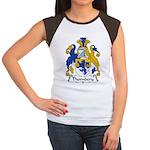 Thornbery Family Crest Women's Cap Sleeve T-Shirt