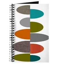 Mid-Century Modern Ovals and Abstracts Journal