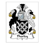 Thorley Family Crest Small Poster