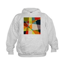 Mid Century Modern Geometric Hoodie