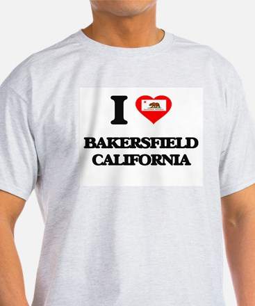 I love Bakersfield California T-Shirt