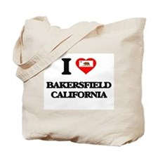 I love Bakersfield California Tote Bag
