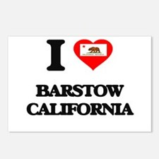 I love Barstow California Postcards (Package of 8)