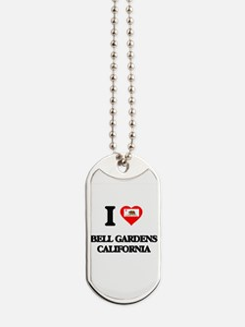 I love Bell Gardens California Dog Tags
