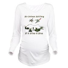 Air Defense Artiller Long Sleeve Maternity T-Shirt