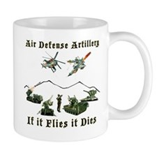 Air Defense Artillery If It Flies It Di Mug