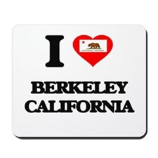 I love Berkeley California Mousepad