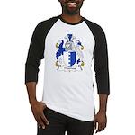 Thomas Family Crest Baseball Jersey
