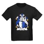 Thomas Family Crest Kids Dark T-Shirt