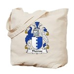 Thomas Family Crest Tote Bag