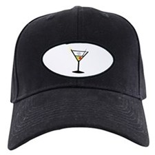 Martini Glass 1 Baseball Hat
