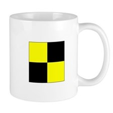 "ICS Flag Letter ""L"" Mugs"