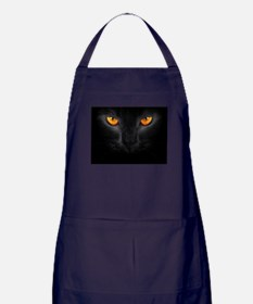 Black Cat Apron (dark)