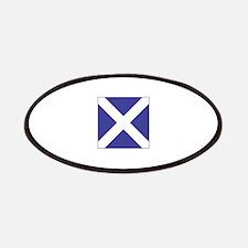 "ICS Flag Letter ""M"" Patch"