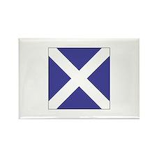"ICS Flag Letter ""M"" Magnets"