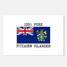 100% Pure Pitcairn Islander Postcards (Package of