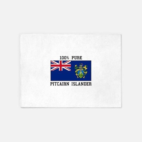100% Pure Pitcairn Islander 5'x7'Area Rug