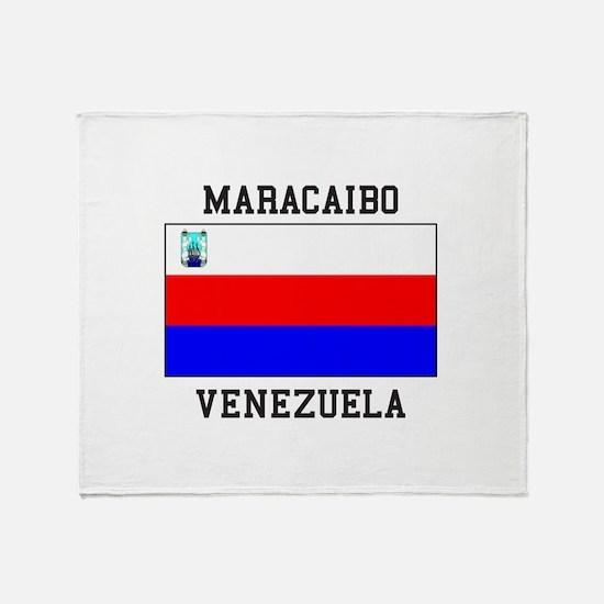 Maracaibo, Venezuela Throw Blanket