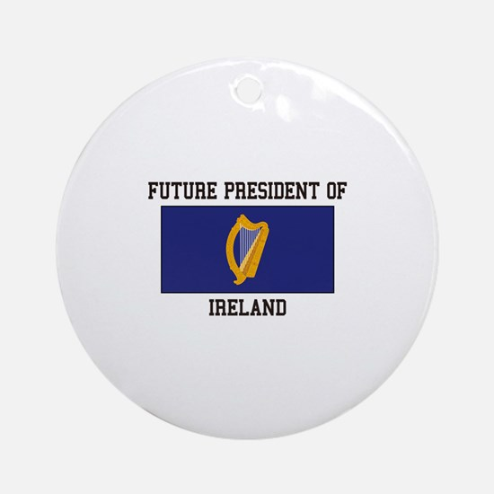 Presidential Seal Ireland Ornament (Round)
