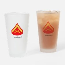 Lance Corporal Drinking Glass