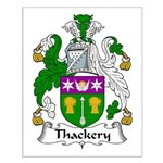 Thackery Family Crest Small Poster