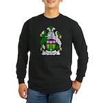 Thackery Family Crest Long Sleeve Dark T-Shirt