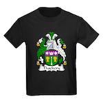 Thackery Family Crest Kids Dark T-Shirt