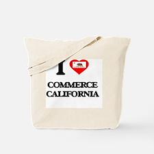 I love Commerce California Tote Bag