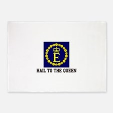 Hail to the Queen 5'x7'Area Rug