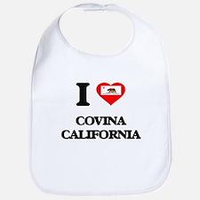 I love Covina California Bib