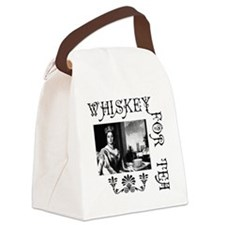 Whiskey for Tea Canvas Lunch Bag