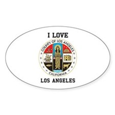 County of Los Angeles Decal